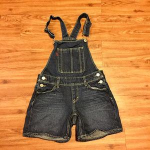 Levis Red Tab Girls Shortalls. Never worn. 10R